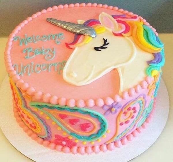 bolo grande unicornio