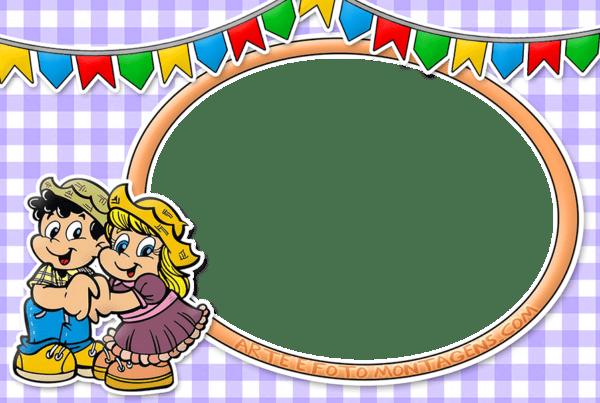 convite festa junina infantil para imprimir