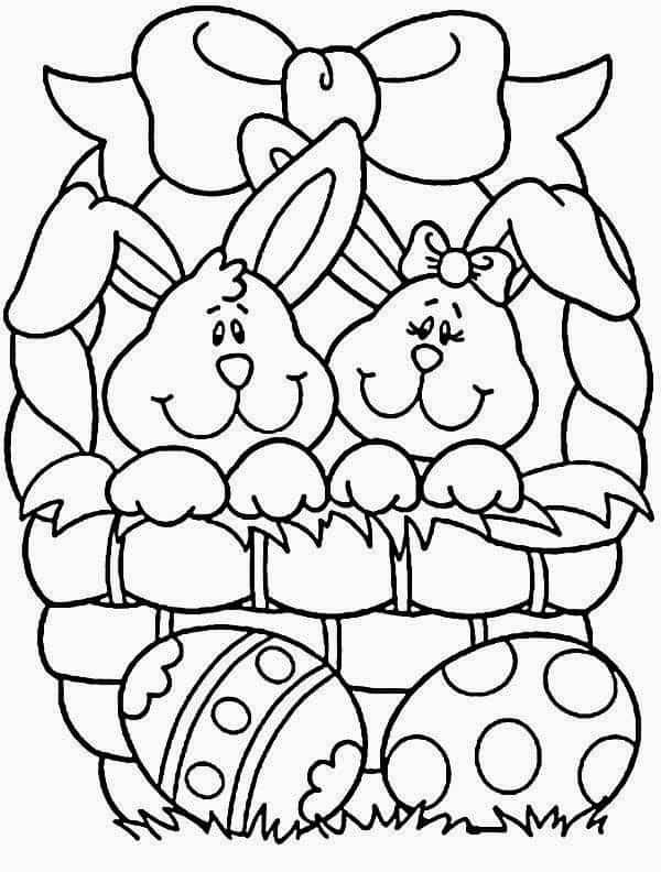 ideias de Desenhos de Páscoa para imprimir passo a passo
