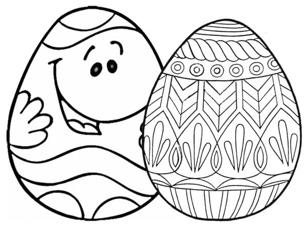 ideias de ovo de Páscoa para colorir