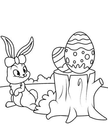 ovos para colorir