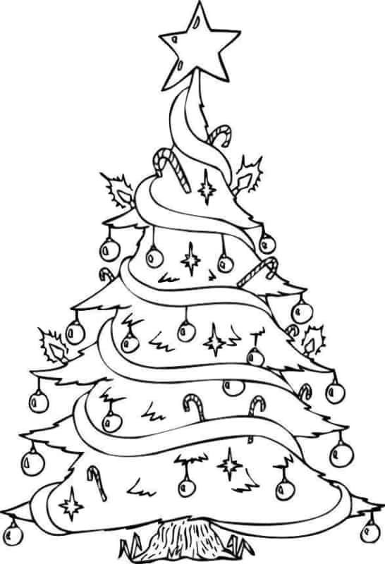 Árvore de Natal super estilosa