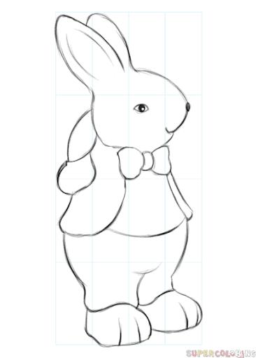 desenho de coelho para fazer