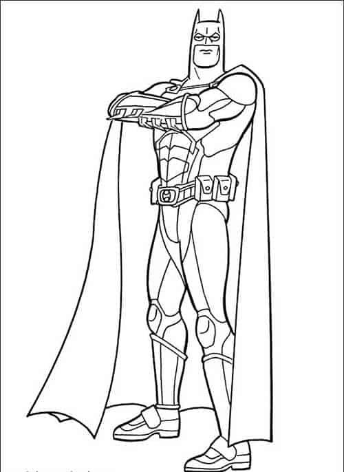Batman para colori