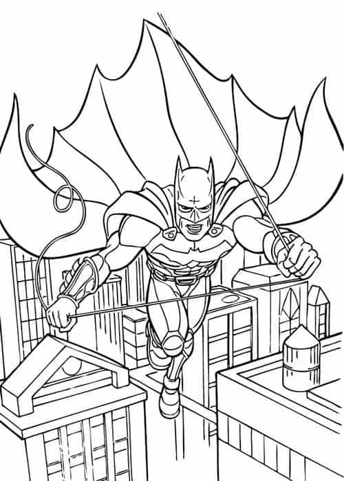 Batman para pintar