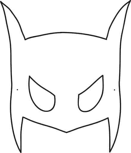 ideia de desenho do Batman para colorir