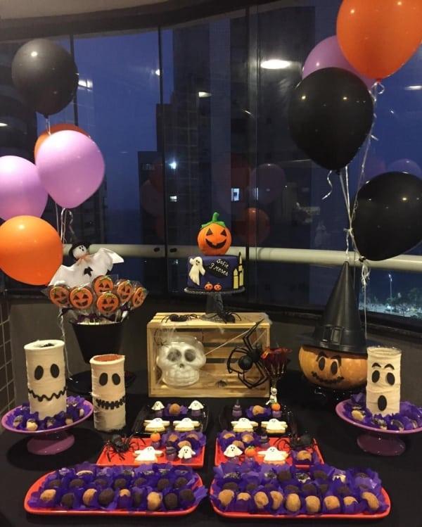 mesversário no halloween