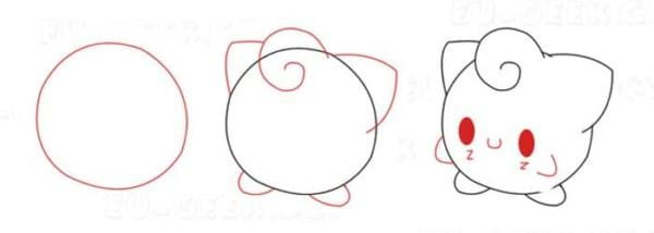 Desenhos fáceis Jigglly