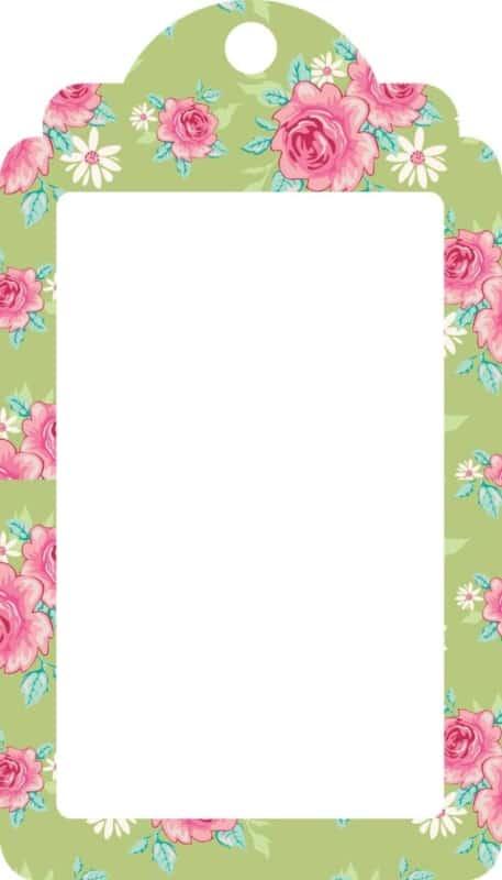 Etiqueta ou tag lembrancinha maternidade para imprimir