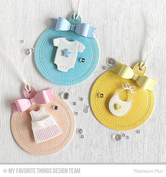 Ideias de tags divertidas para maternidade
