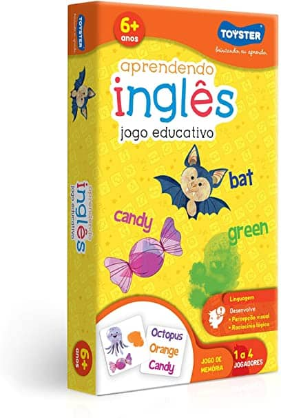 Jogo educativo para aprender inglês