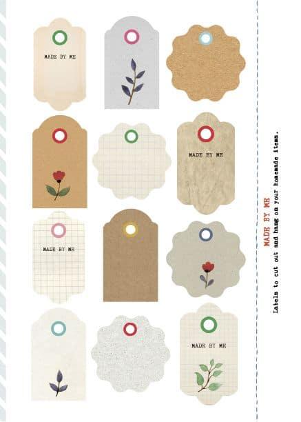 Modelos diferentes de tags para maternidade