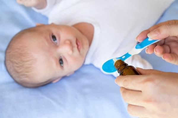 Suplemento vitamínico para bebê