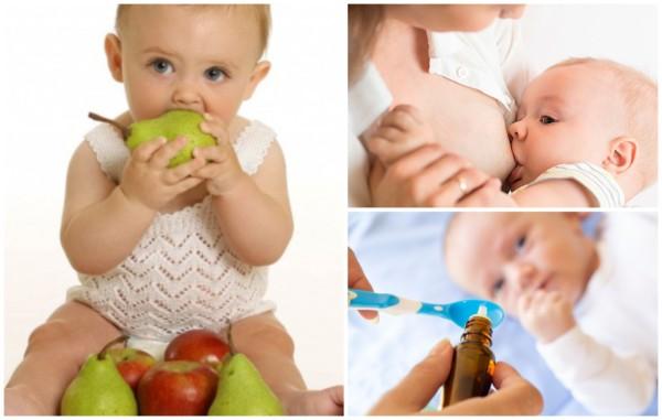 Vitamina para bebê