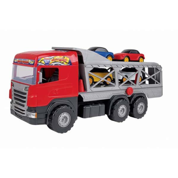 caminhão com carrinhos