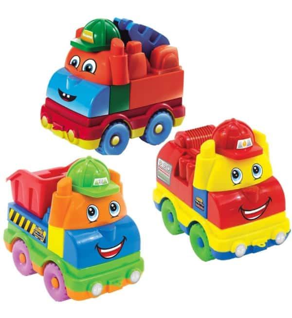 carrinhos de bombeiro