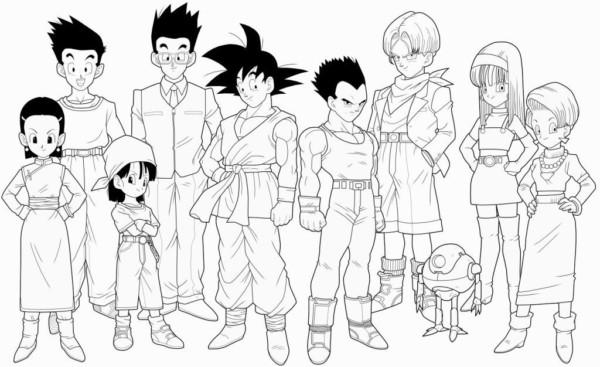 família do Goku