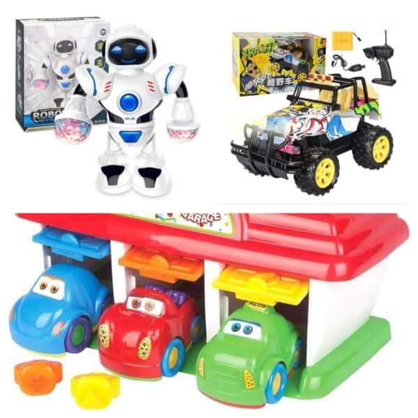 ideias de brinquedos para meninos