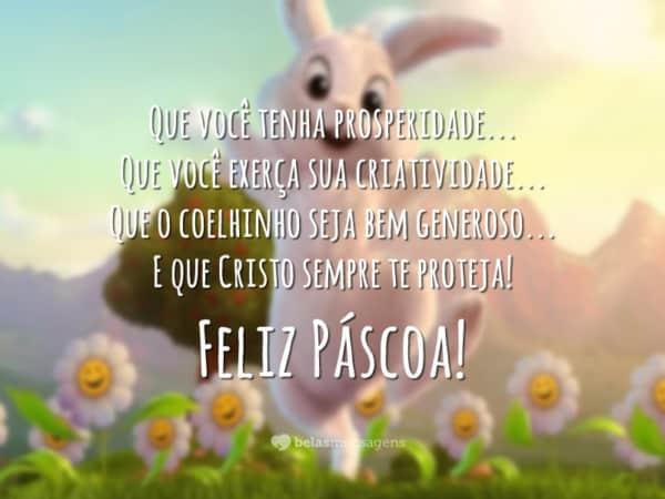 mensagens de Páscoa para crianças lindas