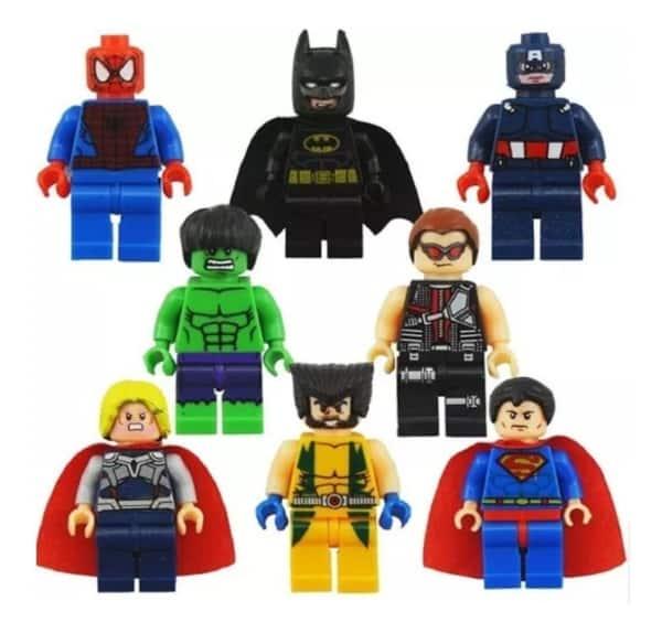 super herois de lego