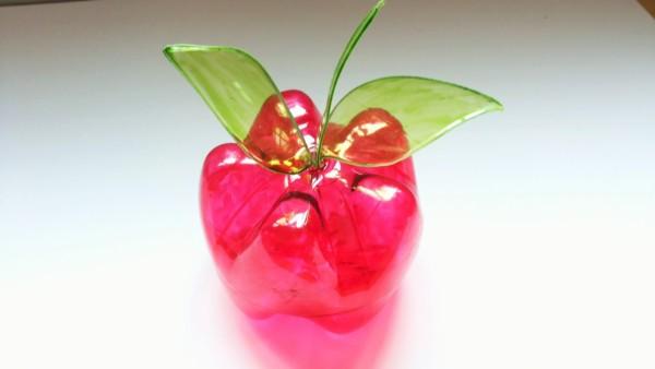 maçã vermelha de garrafa pet para festa Branca de Neve