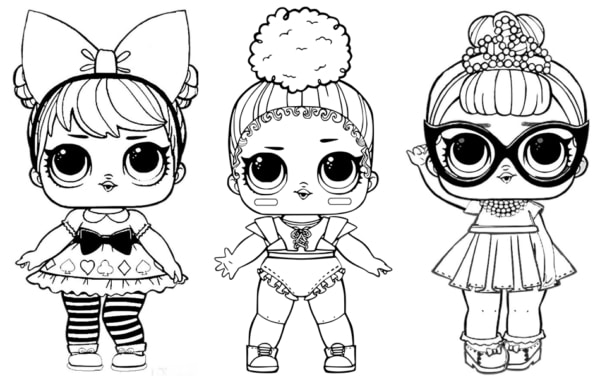 bonequinhas da LOL para imprimir e pintar