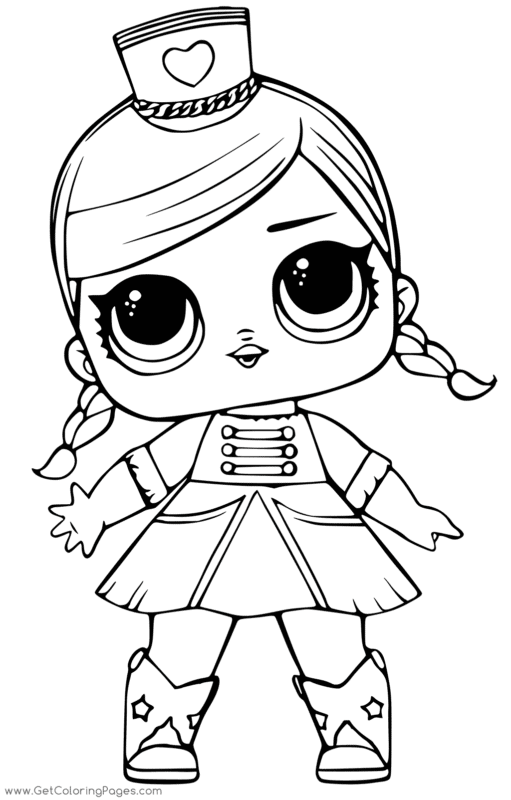 boneca da LOL para imprimir e colorir