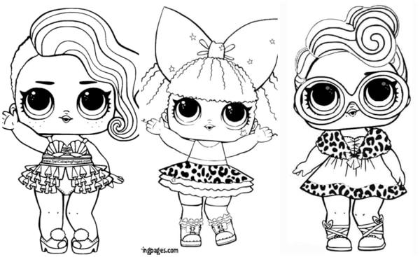 desenhos da LOL para imprimir grátis