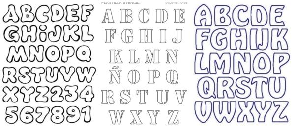 Alfabeto para colorir 4