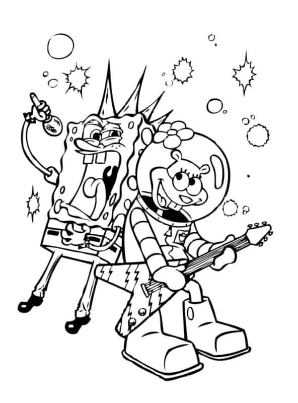 Bob Esponja e Sandy