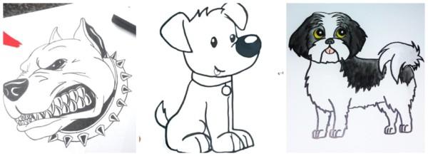 Como desenhar cachorro 2