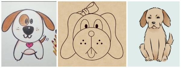 Como desenhar cachorro 4