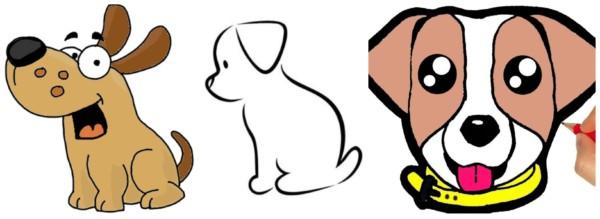 Como desenhar cachorro