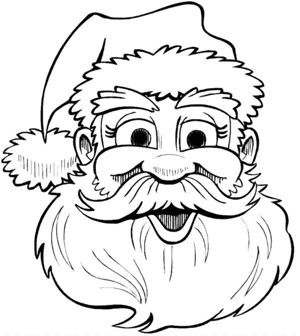 Papai Noel rosto