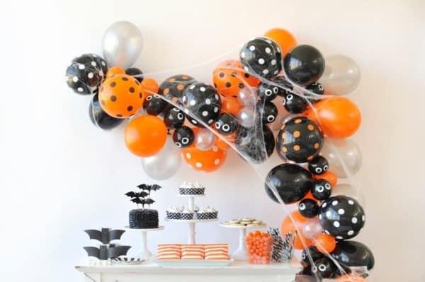 como fazer mesversario Halloween