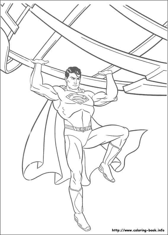 desenho do Superman