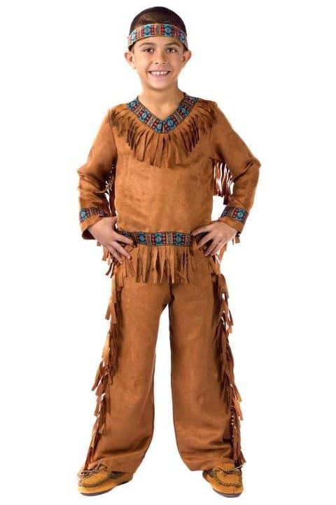 fantasia de indio infantil norte americano