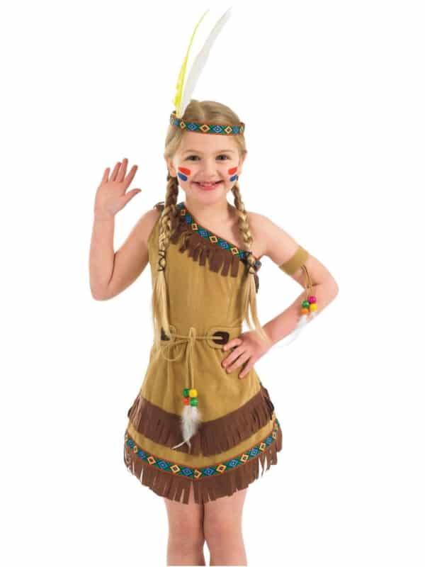 fantasia de indio infantil pocahontas