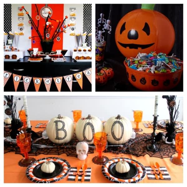 festa de mesversário Halloween
