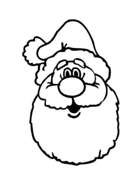 ideias de rosto do Papai Noel
