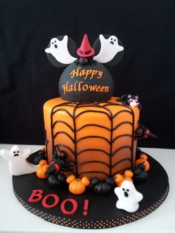 linda ideia de Bolo mesversário Halloween