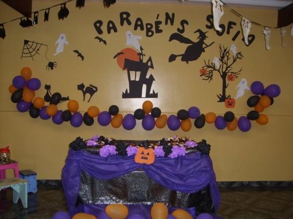 mesversario Halloween com TNT