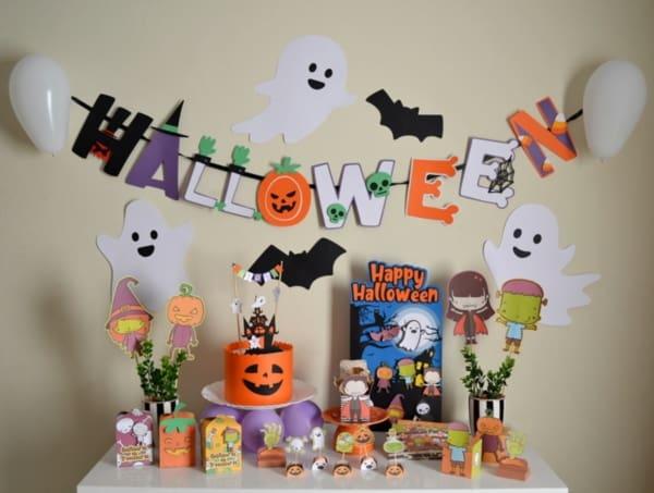 mesversario Halloween como fazer passo a passo