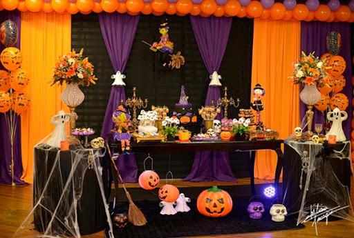 mesversario Halloween como fazer