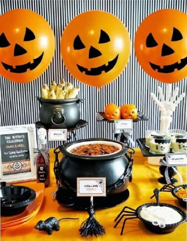 mesversario Halloween ideias