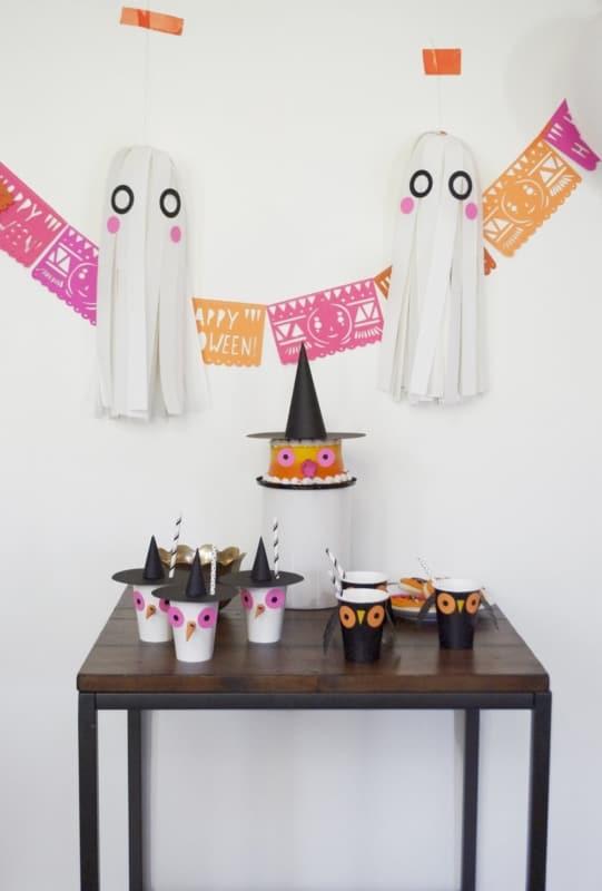 mesversario Halloween simples