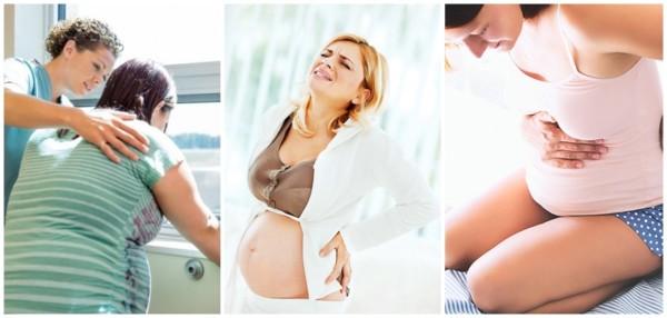 sintomas do trabalho de parto