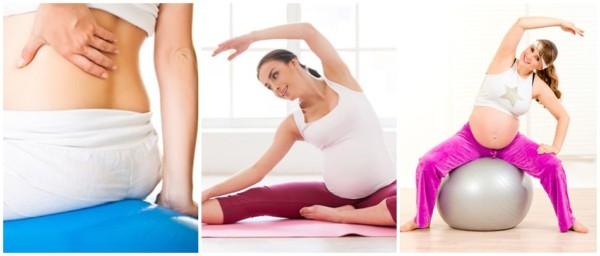 exercícios que ajudam no trabalho de parto