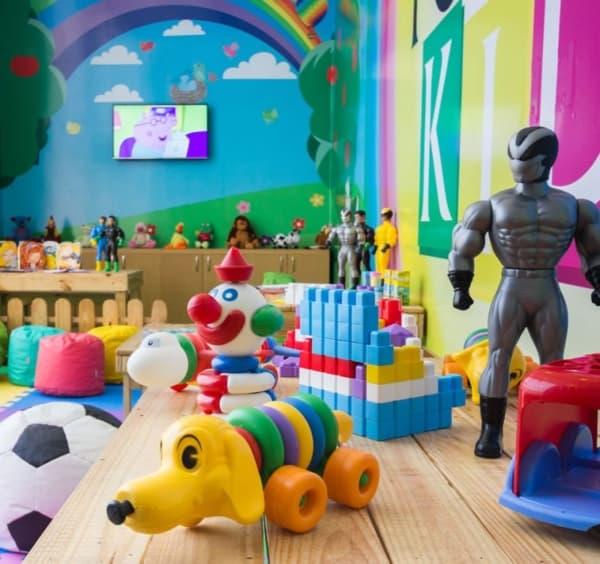 Exemplos de brinquedos lúdicos
