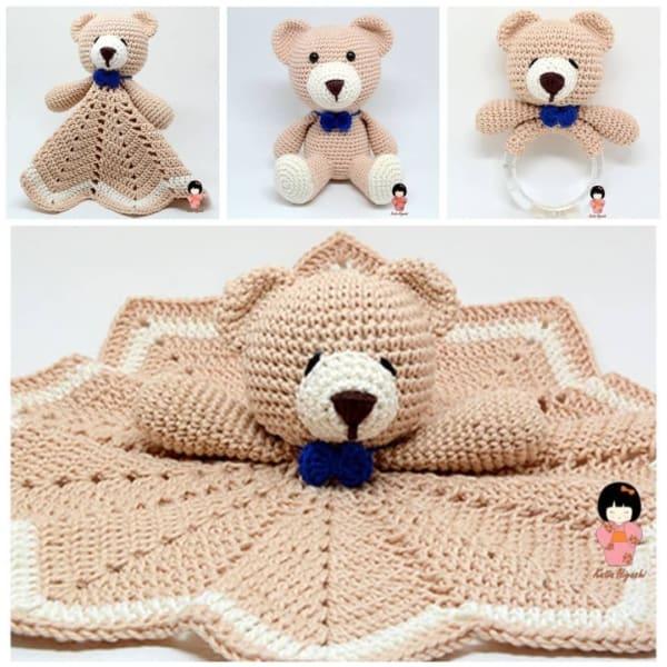 Crochê é usado para fazer amigurumis naninhas